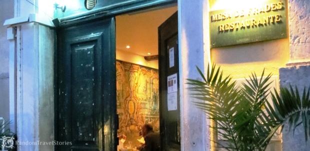 Lizbona_Mesa de Frades