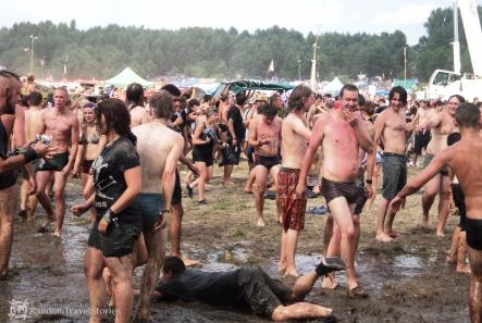 Woodstockowe błoto