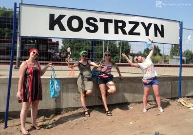 Dworzec w Kostrzynie.