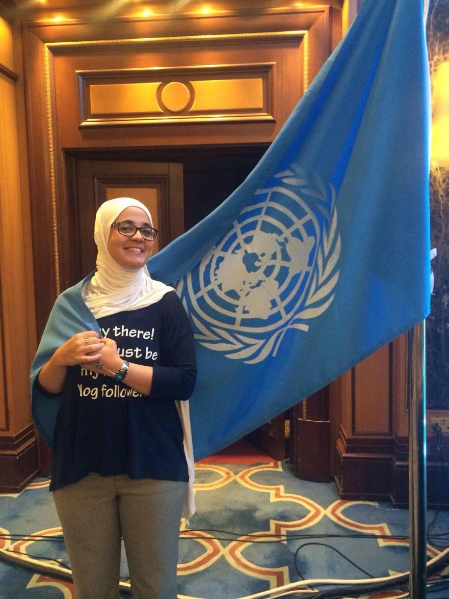 Konferencja ONZ w Amman, Jordania.