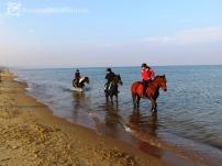 Kolejna rozrywka popularna nad morzem zimą :)