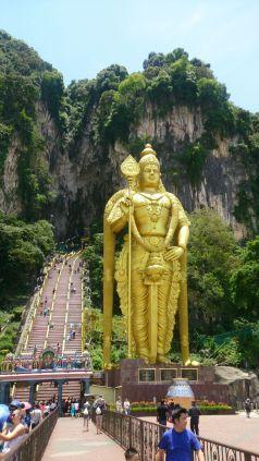 Batu Caves - niesamowite świątynie pod Kuala Lumpur.